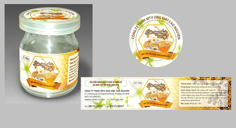 Hình ảnh minh họa về tổ ong cho sản phẩm mật ong