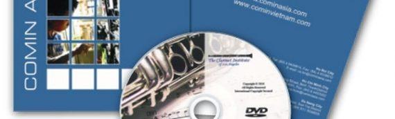 Quy trình in ấn nhãn đĩa giá rẻ chất lượng cao