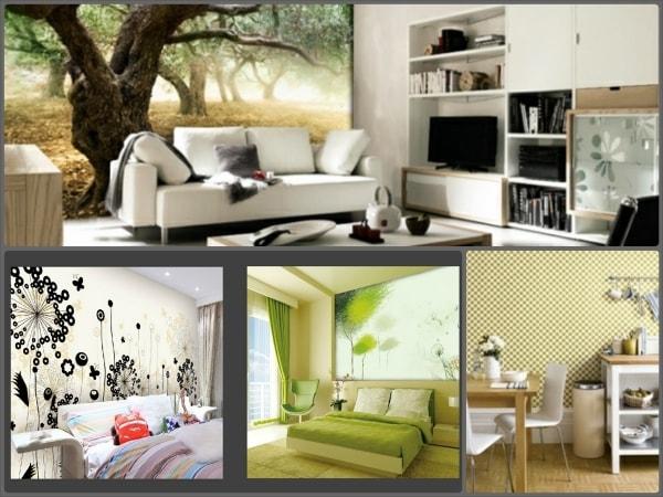 Tìm hiểu về giấy dán tường chống thấm phòng ngủ nhỏ 1