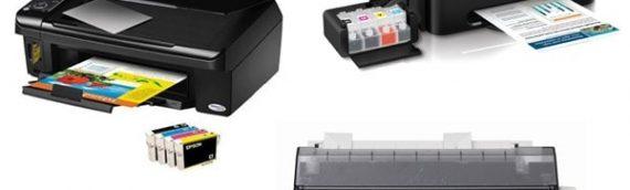 Đặc trưng cơ bản của máy in phun, máy in kim và in laser