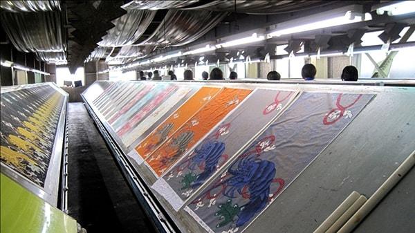 Người ta dùng phương pháp nào để in trên vải?