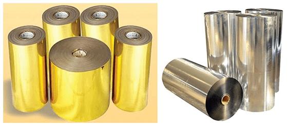 Tìm hiểu về giấy ghép màng Metallized
