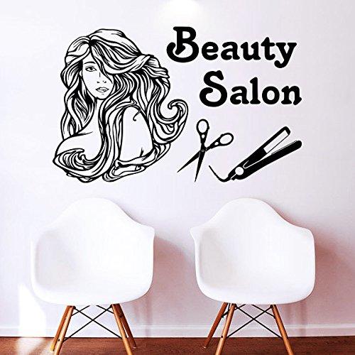 Kinh nghiệm chọn decal dán tường hợp phong thủy cho salon tóc