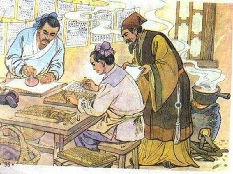 Sự phát minh bản in của những ký tự rời đầu tiên