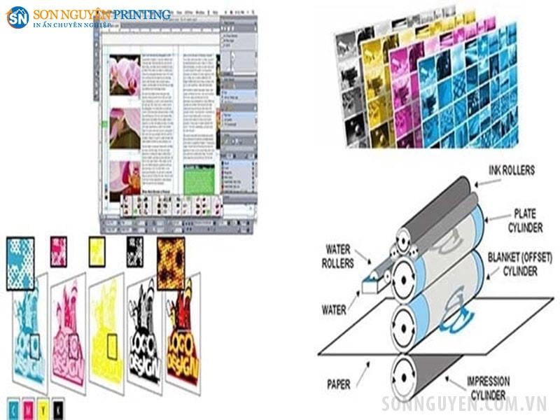 Tìm hiểu về quy trình in offset 4 màu