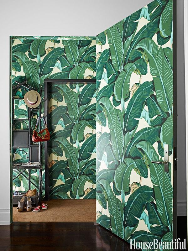 Ý tưởng tráng trí không gian sống cực ấn tượng với giấy dán tường