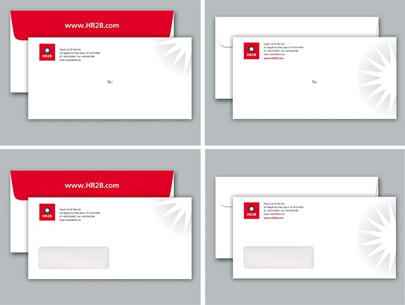 Phong bì thư là thành phần quan trọng tạo nên bộ nhận diện thương hiệu cho doanh nghiệp