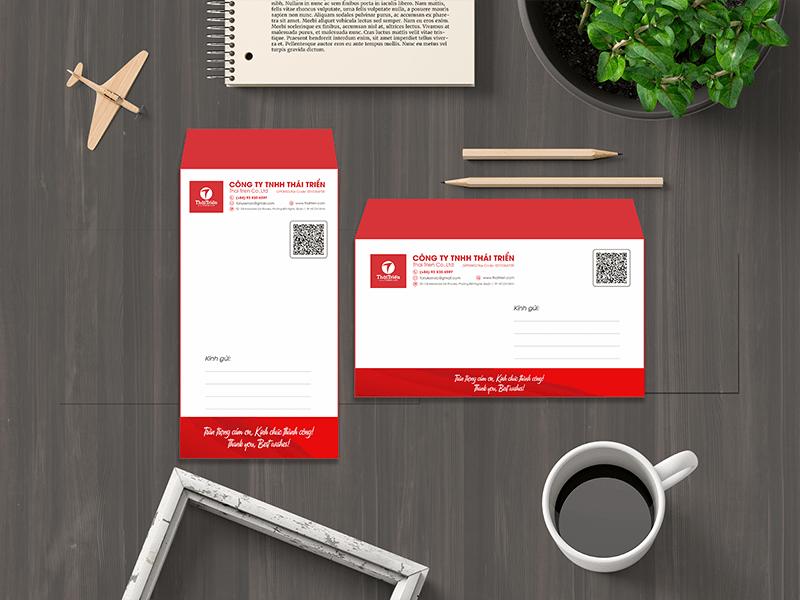 Phong bì thư có nhiều kích cỡ tiêu chuẩn theo ý thích của khách hàng