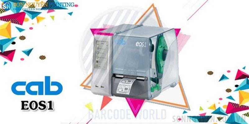 Máy in mã vạch công nghiệp Cab EOS1