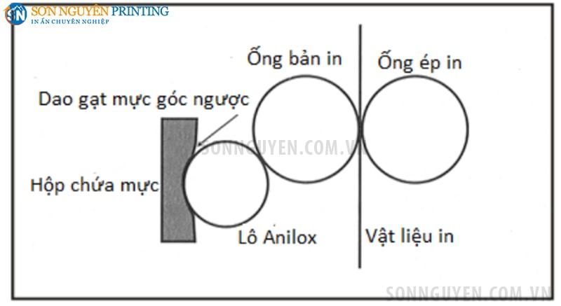 Hệ thống 2 lô truyền mực (hộp mực kín)