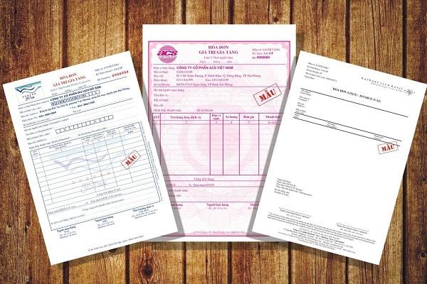 Loại hóa đơn được in từ giấy cacbonless