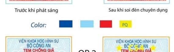 Đặc điểm và cách sử dụng tem chống hàng giả