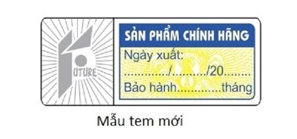 Việc dán tem bảo hành cần đúng cách