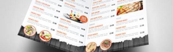 Người ta thường dùng loại giấy nào để in menu cho quán ăn, nhà hàng
