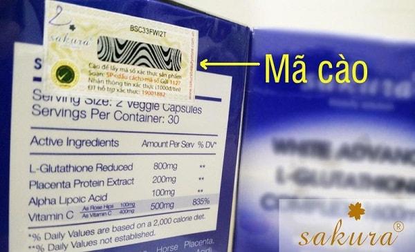 Kiểm tra tem chống hàng giả trên mỹ phẩm bằng cách gửi SMS