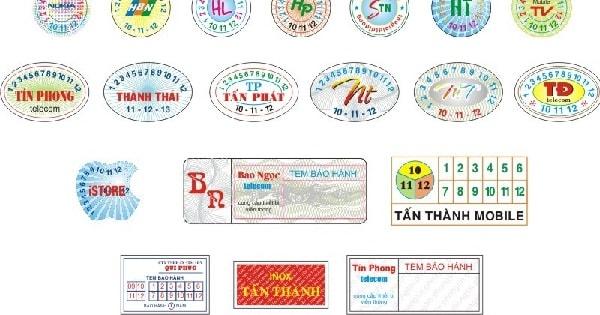 Sử dụng tem chống hàng giả, tem bảo hành là cách để bảo vệ người tiêu dùng và doanh nghiệp