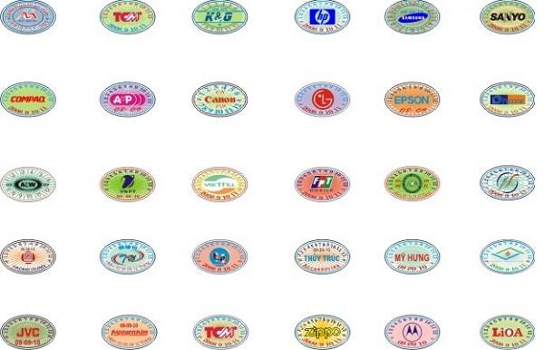Decal vỡ là nguyên liệu chính được dùng để làm tem bảo hành và tem chống hàng giả