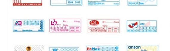 Vì sao nên in tem bảo hành, tem chống hàng giả bằng chất liệu decal vỡ?