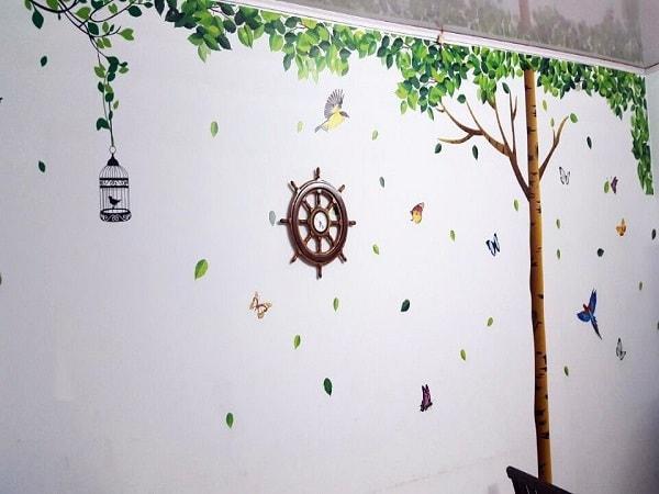 Decal dán tường