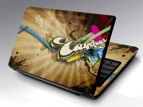 Việc dán decal sẽ giúp cho laptop của bạn tránh bị trầy xước