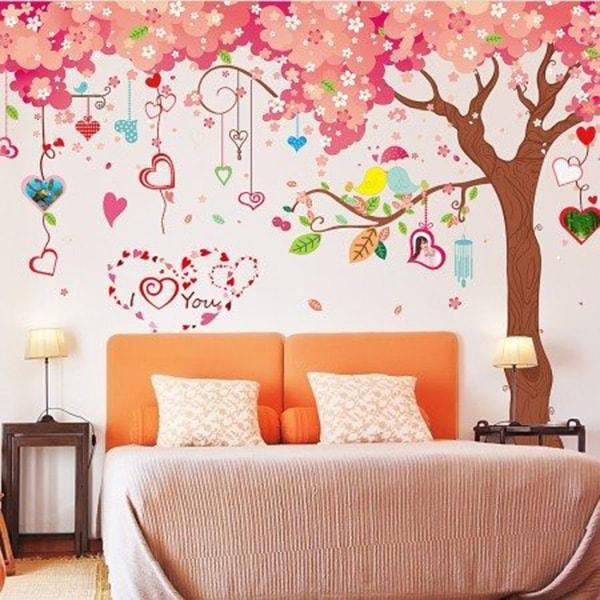Decal dán tường màu xám hợp mệnh Thổ