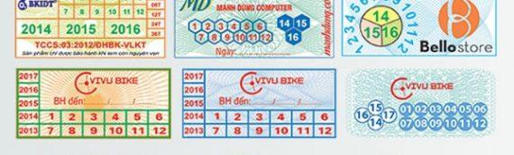 Giúp bạn phân biệt tem decal và tem bảo hành