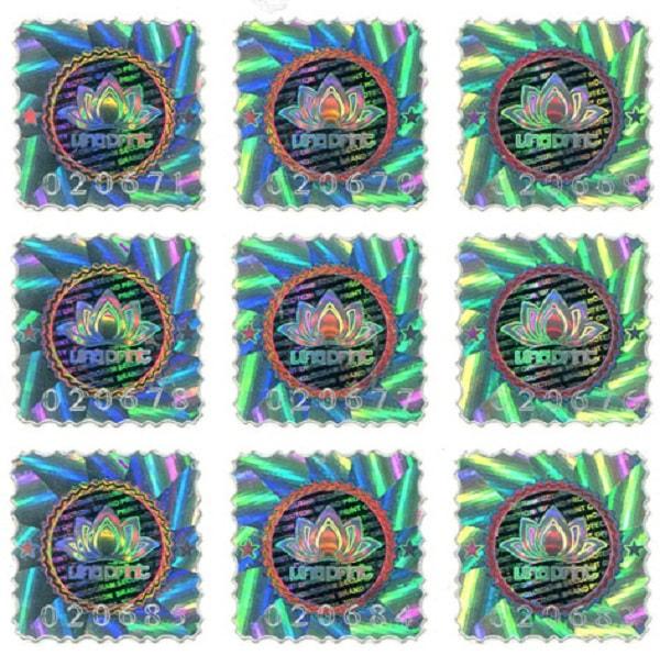Hình ảnh của những chiếc tem có màu sắc rất đẹp