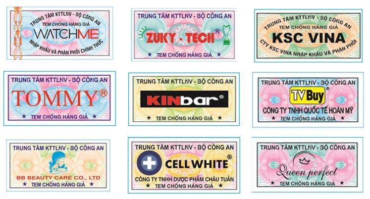Đặc điểm, cấu tạo, công dụng của tem chống hàng giả