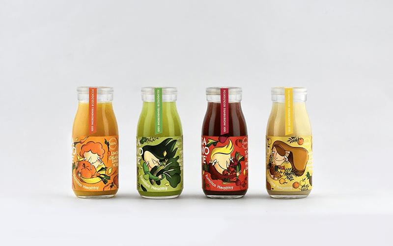 Decal nhựa dán trên chai thủy tinh