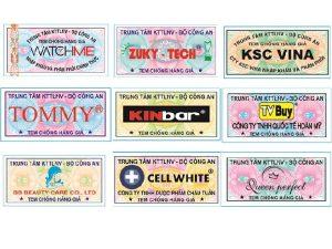 """Cách phân biệt tem chống hàng giả """"thật"""" và """"giả"""""""