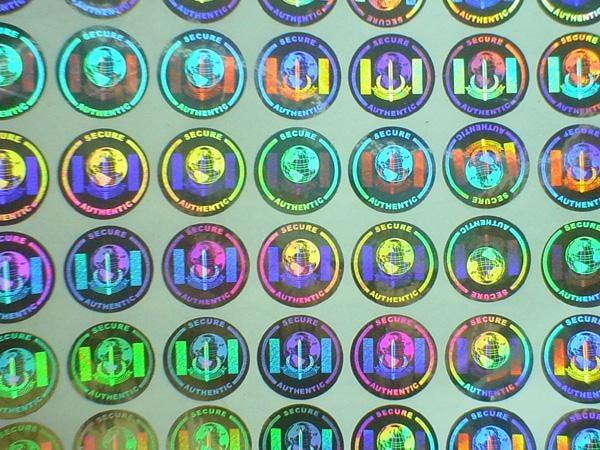 Các mẫu tem chống hàng giả Hologram