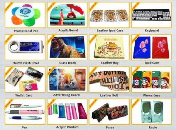 Một số sản phẩm được in UV cho bạn tham khảo