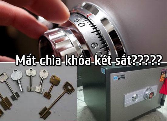Mở khóa két sắt khi mất chìa khóa