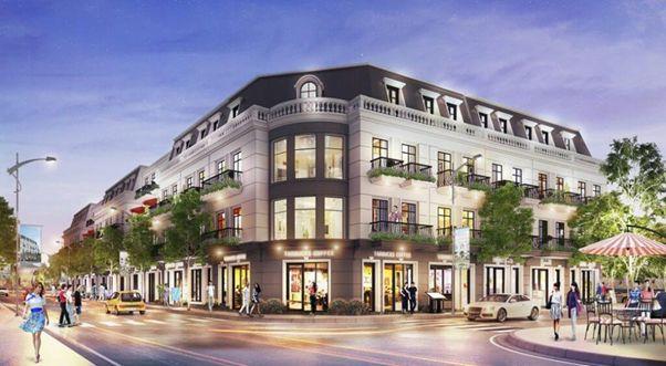 Một vài thông tin quan trọng về dự án khu phố thương mại