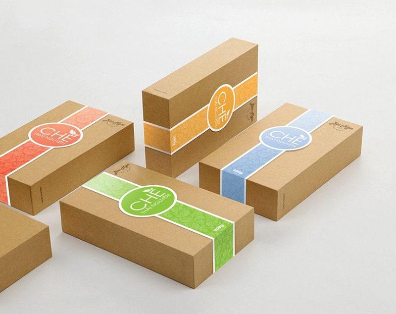 In bao bì trên hộp giấy đang ngày càng được nhiều doanh nghiệp áp dụng