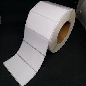 Tem decal giấy mã vạch 100x50mm dài 100m 6