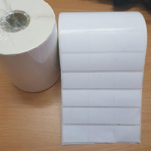 Hình ảnh sản phẩm tem decal giấy mã vạch 35x22mm (3 tem) dài 50m