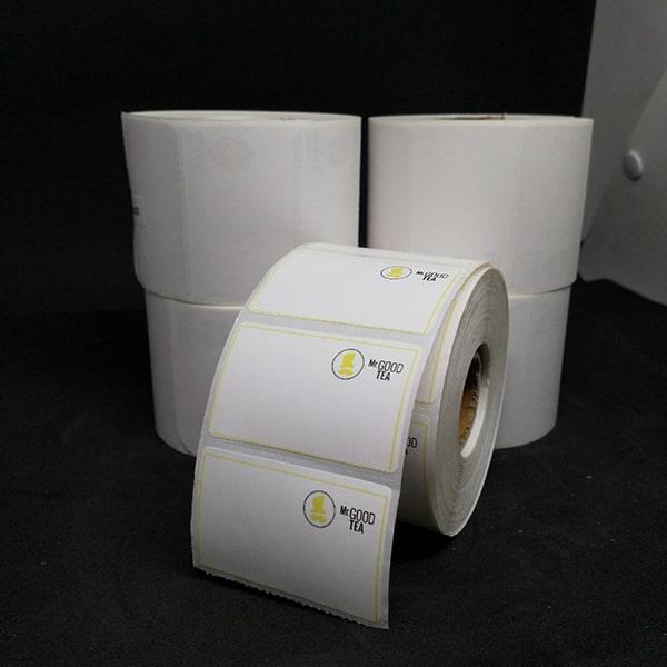 Tem trà sữa, trà chanh 50x30 in logo (30m) 1