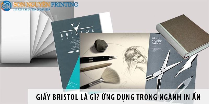 Giấy Bristol là gì? Ứng dụng trong ngành in ấn, xuất bản