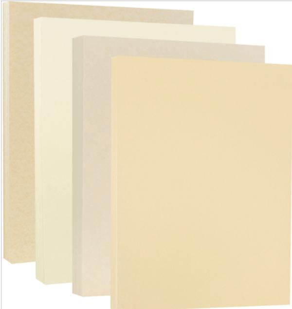 Giấy Ivory là loại giấy khá dày, không tráng phủ, cứng