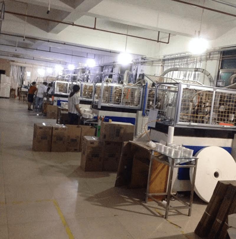 Xưởng sản xuất giấy Glassine