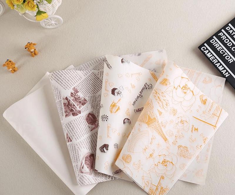 Túi giấy Glassine được in ấn đơn giản