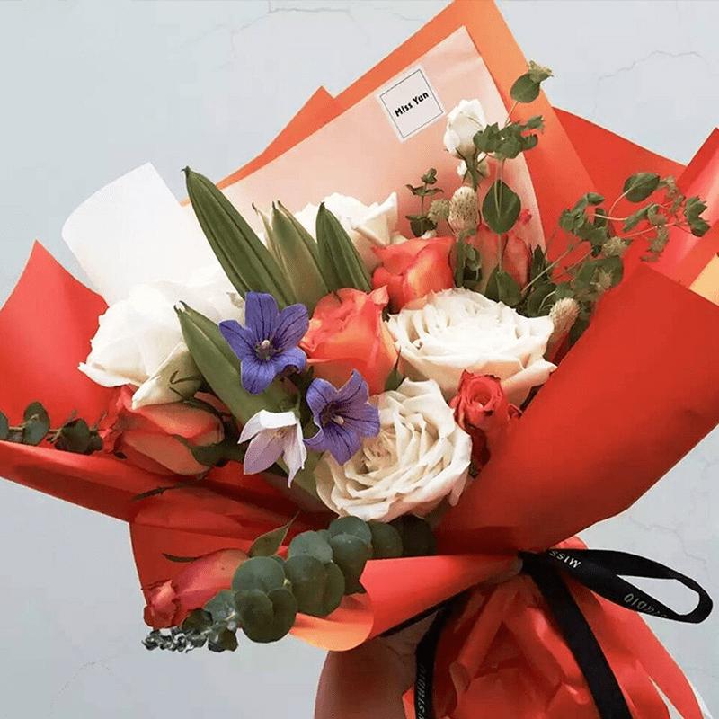 Giấy Glassine dùng để bọc hoa