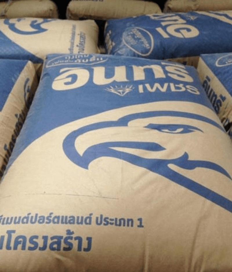 Giấy Kraft được ứng dụng làm túi đựng vật liệu xây dựng