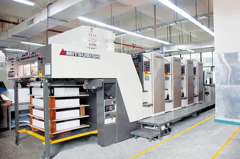 Hệ thống máy in của in Việt Long