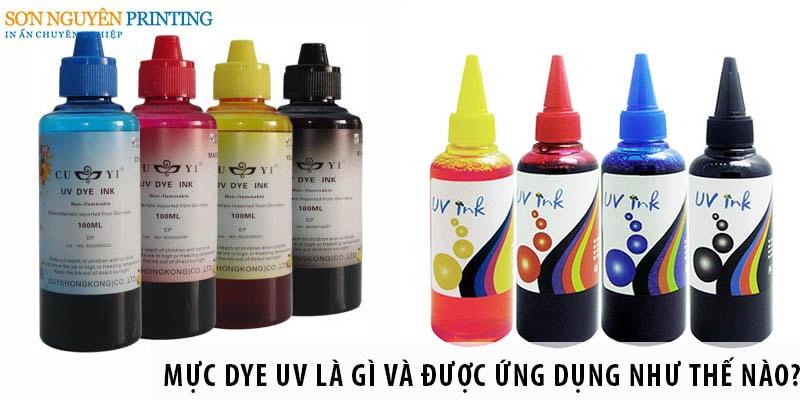 Mực Dye UV là gì và được ứng dụng như thế nào?