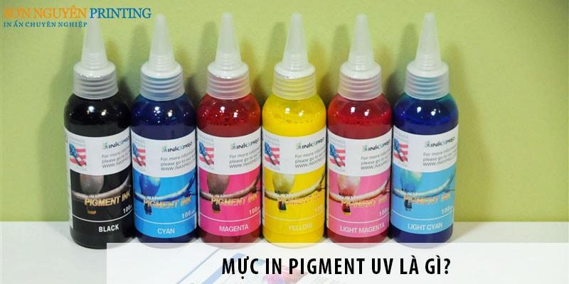 Mực in Pigment UV là gì? Ứng dụng của mực Pigment UV