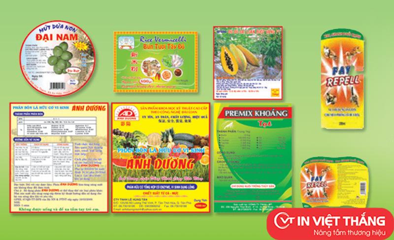 Dịch vụ in ấn của Công ty cổ phần in Việt Thắng