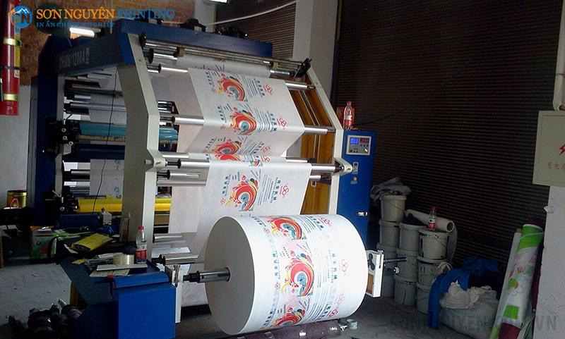 Flexo được ứng dụng nhiều trong in ấn
