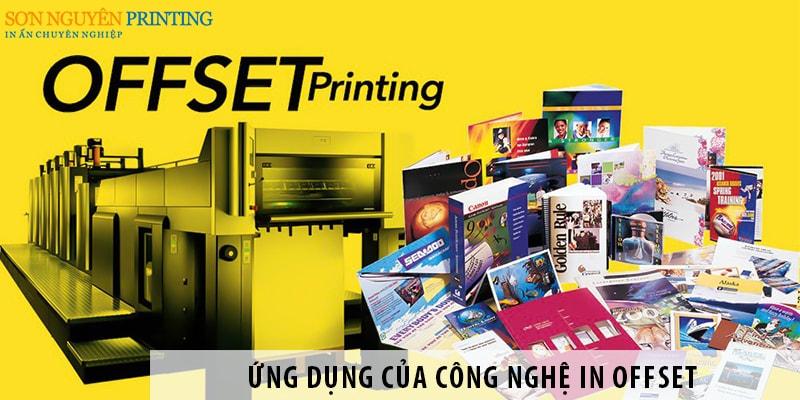 Ứng dụng của công nghệ in Offset trong ngành in ấn